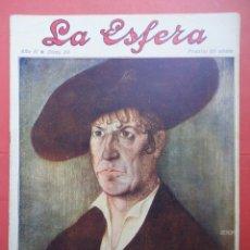 Coleccionismo de Revistas y Periódicos: LA ESFERA. AÑO II. Nº 80. AÑO 1915. OCHOA. Lote 49559014