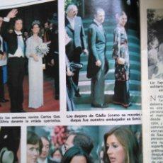 Coleccionismo de Revistas y Periódicos: RECORTE MARI CARMEN MARTINEZ BORDIU. Lote 49582555
