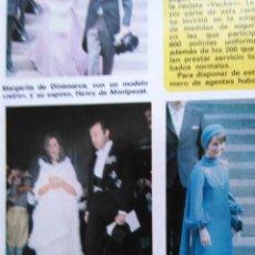 Coleccionismo de Revistas y Periódicos: RECORTE MARI CARMEN MARTINEZ BORDIU. Lote 49582557