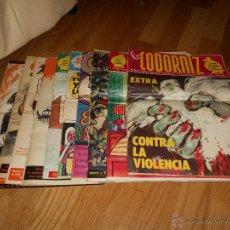 Coleccionismo de Revistas y Periódicos: LOTE 10 REVISTAS LA CODORNIZ HUMOR. Lote 49610759