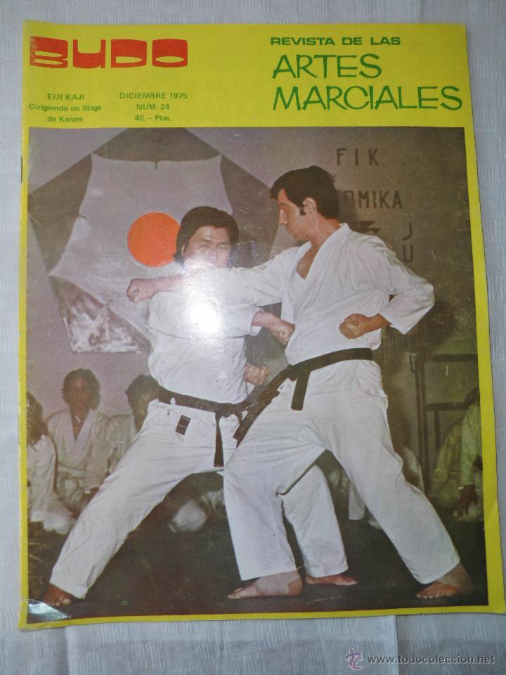 REVISTA ARTES MARCIALES NUMERO 24, DEL 1975 (Coleccionismo - Revistas y Periódicos Modernos (a partir de 1.940) - Otros)