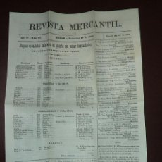 Coleccionismo de Revistas y Periódicos: REVISTA MERCANTIL. AÑO 17. Nº 35. HABANA. DICIEMBRE 1885. LEER. Lote 49647411