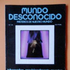 Coleccionismo de Revistas y Periódicos: MUNDO DESCONOCIDO. MISTERIOS DE NUESTRO MUNDO. Nº 34 - DTOR: ANDREAS FABER KAISER. Lote 49679432