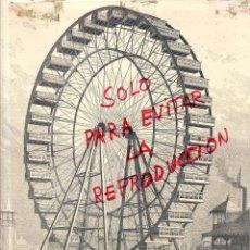 Coleccionismo de Revistas y Periódicos: CHICAGO 1893 EXPOSICION UNIVERSAL ILUSTRACION HOJA REVISTA. Lote 49698687