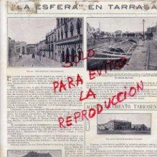 Coleccionismo de Revistas y Periódicos: TARRASA 1927 ALCANTARILLA HOJA REVISTA. Lote 49699504