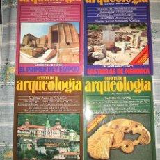 Coleccionismo de Revistas y Periódicos: REVISTA DE ARQUEOLOGIA Nº 4 + 6 + 7 + 11 TAMBIEN SUELTAS . Lote 49783788