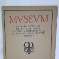 Coleccionismo de Revistas y Periódicos: ANTIGUA REVISTA SOBRE ARTE MUSEUM - Nº 5. VI EXPOSICIÓN INTERNACIONAL DE ARTE, BARCELONA - AÑO 1911. Lote 117881018