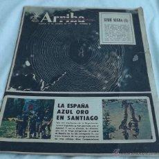 Coleccionismo de Revistas y Periódicos: PERIODICO ARRIBA DOMINICAL 29 DE AGOSTO DE 1971. Lote 50067115