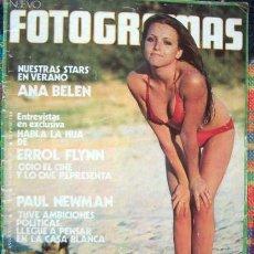 Coleccionismo de Revistas y Periódicos: REVISTA FOTOGRAMAS / ANA BELEN, TATUM O'NEAL, PAUL NEWMAN, STRAWBS, ARNELLA FLYNN, JULIET BERTO. Lote 50095113