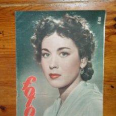 Coleccionismo de Revistas y Periódicos: REVISTA FOTOS Nº 711, DE 1950. , MAUSOLEO DE MANOLETE, CONCHITA PIQUER, PORTADA AURORA BAUTISTA. Lote 50154772