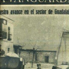 Coleccionismo de Revistas y Periódicos: LA VANGUARDIA NOTAS GRÁFICAS GUERRA CIVIL 7 ABRIL 1937 - MASEGOSO DE TAJUÑA - GUADALAJARA. Lote 50167430