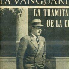 Coleccionismo de Revistas y Periódicos: LA VANGUARDIA NOTAS GRÁFICAS GUERRA CIVIL 31 MARZO 1937 TARRADELLAS. Lote 50167712