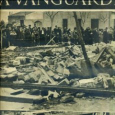Coleccionismo de Revistas y Periódicos: LA VANGUARDIA NOTAS GRÁFICAS GUERRA CIVIL 14 MARZO 1937 ALAS NEGRAS SOBRE CATALUÑA. Lote 50167905