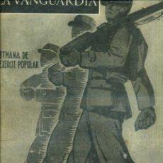 Coleccionismo de Revistas y Periódicos: LA VANGUARDIA NOTAS GRÁFICAS GUERRA CIVIL 27 FEBRERO 1937 EXERCIT POPULAR. Lote 50171260