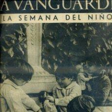 Coleccionismo de Revistas y Periódicos: LA VANGUARDIA NOTAS GRÁFICAS GUERRA CIVIL 1 ENERO 1937 SEMANA DEL NIÑO. Lote 50171413