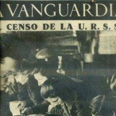 Coleccionismo de Revistas y Periódicos: LA VANGUARDIA NOTAS GRÁFICAS GUERRA CIVIL 12 ENERO 1937 . Lote 50171460