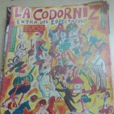 Coleccionismo de Revistas y Periódicos: REVISTA LA CODORNIZ Nº 1486 10DE MAYO 1970 AÑO 30. Lote 50184685