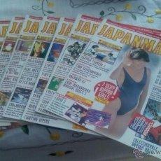 Coleccionismo de Revistas y Periódicos: JAPANMANÍA. LOTE DE 9 NÚMEROS. SUPLEMENTO SUPERJUEGOS. N° 2,5,6,7,8,10,11,13 Y 14. MUY BUEN ESTADO.. Lote 50200195