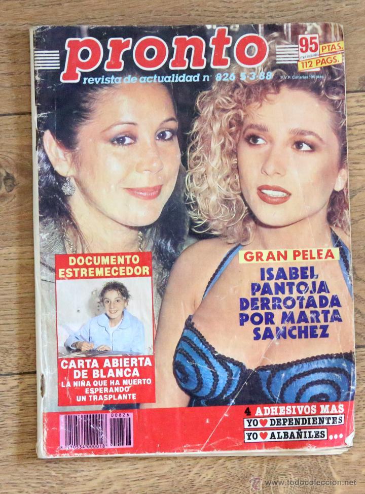 Revista pronto isabel pantoja derrotada por ma comprar for Revista pronto primicias ya