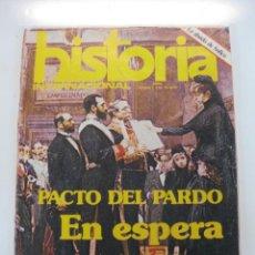 Coleccionismo de Revistas y Periódicos: REVISTA HISTORIA INTERNACIONAL Nº 1. PACTO DEL PARDO, EN ESPERA DEL REY. ABRIL 1975. Lote 50220834