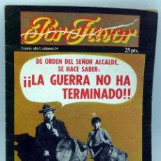 Coleccionismo de Revistas y Periódicos: POR FAVOR Nº 14 AÑO I ED PUNCH 1974 REVISTA TRANSICIÓN . Lote 50248152
