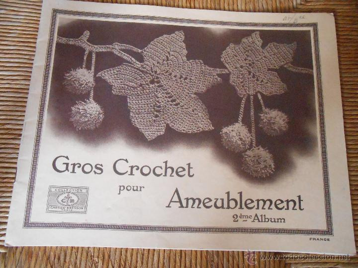 GROS CROCHET POUR AMEUBLEMENT (Coleccionismo - Revistas y Periódicos Modernos (a partir de 1.940) - Otros)