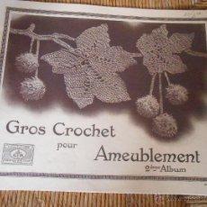 Coleccionismo de Revistas y Periódicos: GROS CROCHET POUR AMEUBLEMENT. Lote 50272567
