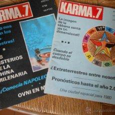 Coleccionismo de Revistas y Periódicos: KARMA 7 Nº 65 Y 66 -AÑO 1978. Lote 50275600