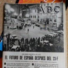 Coleccionismo de Revistas y Periódicos: ABC. 8 DE MARZO 1981. 23 F. GOLPE DE ESTADO.. Lote 50325699