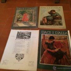 Coleccionismo de Revistas y Periódicos: ANTIGUA REVISTA DACI Y DALLA DE 1926 DE BARCELONA. Lote 50363396