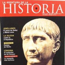 Coleccionismo de Revistas y Periódicos: REVISTA LA AVENTURA DE LA HISTORIA. Nº 32. TRAJANO. 130 PÁGINAS. Lote 50386489