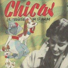 Coleccionismo de Revistas y Periódicos: CHICAS LA REVISTA DE LOS 17 AÑOS, CHICAS 2ª ÉPOCA Nº 86 17 FEBRERO 1952 MADRID. Lote 50390587