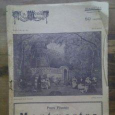 Coleccionismo de Revistas y Periódicos: LA ESCENA CATALANA Nº 20 / MONTMARTRE, ANY 1918 / TEATRE. Lote 50393081