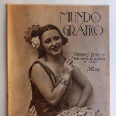 Coleccionismo de Revistas y Periódicos: REVISTA MUNDO GRAFICO Nº 685- AÑO 1924. Lote 50407434
