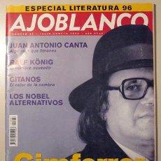Coleccionismo de Revistas y Periódicos: AJOBLANCO. NÚMERO 87. JULIO/AGOSTO 1996 (REVISTA) - PERE GIMFERRER, ENTREVISTAS. Lote 29391696