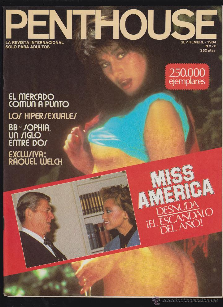 Penthouse Nº 78 Septiembre 1984 Raquel Welch Sold Through