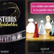 Coleccionismo de Revistas y Periódicos: PORTADAS + 6 REVISTAS DE VESTIDOS INOLVIDABLES GLAMOUROSOS DE LAS GRANDES DIVAS DEL CINE.. Lote 50458510