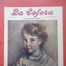 Coleccionismo de Revistas y Periódicos: LA ESFERA. Nº 125. AÑO 1916.. Lote 50549299