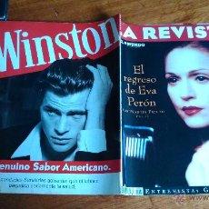 Coleccionismo de Revistas y Periódicos: MADONNA .EL REGRESO DE EVA PERON...1996. Lote 50583755