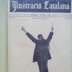 Coleccionismo de Revistas y Periódicos: ILUSTRACIÓ CATALANA EDICIÓ POPULAR / ANY 1917 / 37 EXEMPLARS ENCUADERNATS . Lote 50596940