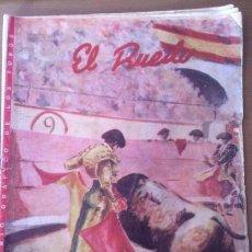 Coleccionismo de Revistas y Periódicos: SEMANARIO GRAFICO DE LOS TOROS, EL RUEDO - 1954. Lote 50665729