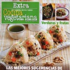 Coleccionismo de Revistas y Periódicos: COCINA VEGETARIANA EXTRA N. 4 - LAS MEJORES SUGERENCIAS DE COCINA ORIENTAL (NUEVA). Lote 50668625