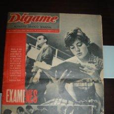 Coleccionismo de Revistas y Periódicos: DIGAME NUM 1185. AÑO XXII. MADRID 18 SEPTIEMBRE 1962. Lote 50673855