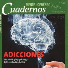 Coleccionismo de Revistas y Periódicos: MENTE Y CEREBRO CUADERNOS N. 10 - EN PORTADA: ADICCIONES (NUEVA). Lote 50699493