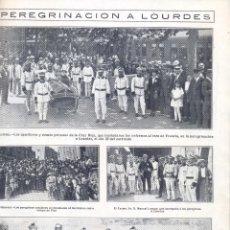Coleccionismo de Revistas y Periódicos: REVISTA AÑO 1921 CRUZ ROJA DE BARCELONA UNIFORMES VILLARREAL ESGLESIA DE SANTA MADRONA POBLE SEC. Lote 50731796