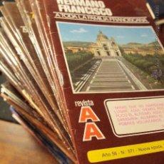 Coleccionismo de Revistas y Periódicos: 1977-1998 GRAN LOTE DE 111 REVISTAS, HERMANO FRANCISCO, FAMILIA FRANCISCANA, REVISTA AA. Lote 50735034