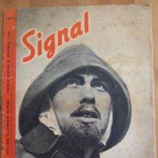 Coleccionismo de Revistas y Periódicos: REVISTA SIGNAL - Nº 15 NOVIEMBRE DE 1940 - FORMATO GRANDE - FRANCES - BLANCO Y NEGRO , COLOR. Lote 50739359