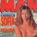 Coleccionismo de Revistas y Periódicos: REVISTA MAN 135 ENERO 1999 SOFIA MAZAGATOS CATHERINE ZETA-JHONES MARÍA ESTEVE. Lote 50778513