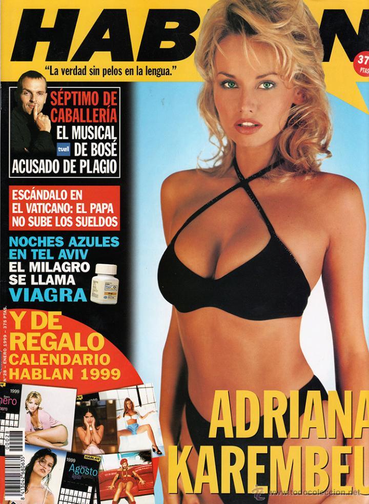 REVISTA HABLAN 28 ENERO 1999 ADRIANA KAREMBEU SKLERANIKOVA NIKOLE KIDMAN (Coleccionismo - Revistas y Periódicos Modernos (a partir de 1.940) - Otros)