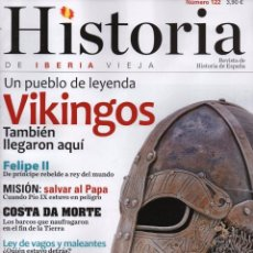 Coleccionismo de Revistas y Periódicos: HISTORIA DE IBERIA VIEJA N. 122 - EN PORTADA: VIKINGOS (NUEVA). Lote 105466274